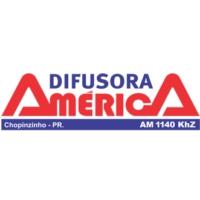 Logo de la radio Rádio Difusora América