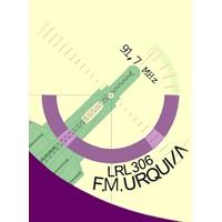 Logo of radio station Urquiza FM