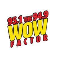 Logo de la radio KOAI 95.1 The Wow Factor