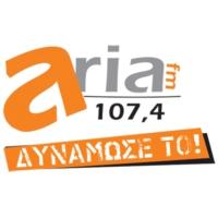 Logo of radio station Aria FM 107.4