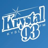 Logo of radio station KYSL Krystal 93