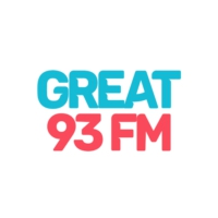 Logo of radio station GREAT 93