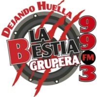 Logo of radio station XHRPC La Bestia Grupera 99.3 FM