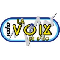 Logo of radio station La Voix de St-Lo