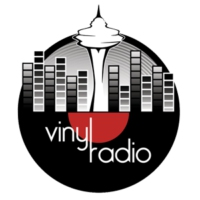 Logo of radio station Vinyl Radio