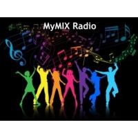 Logo of radio station MyMix Radio