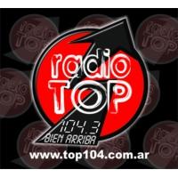 Logo de la radio Radio Top 104.3