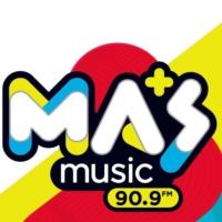 Logo de la radio Masmusic 90.9fm