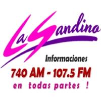 Logo of radio station lasandino