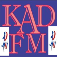 Logo of radio station kad fm
