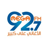 Logo of radio station ميجا اف ام - Mega 92.7 FM