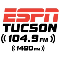 Logo of radio station KFFN ESPN 104.9 FM & 1490 AM