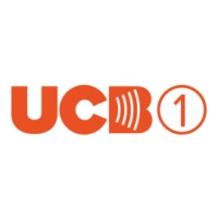 Logo of radio station UCB 1