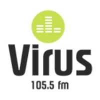 Logo de la radio Virus 105.5