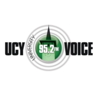 Logo of radio station UCY Voice 95.2FM
