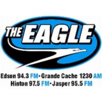 Logo of radio station CFXE