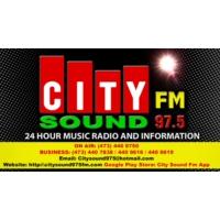 Logo of radio station City Sound 97.5FM