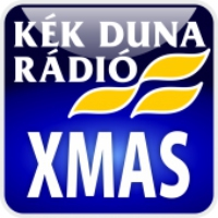Logo of radio station KÉK DUNA - Karácsony