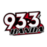 Logo of radio station XHQQ Banda FM 93.3