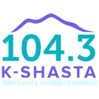 Logo of radio station KSHA-FM 104.3