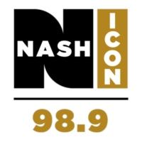 Logo of radio station WORC 98.9 NASH ICON