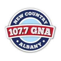 Logo of radio station WGNA 107.7