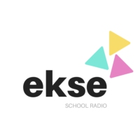 Logo of radio station ekse school radio