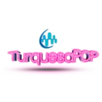 Logo de la radio XHCANQ Turquesa POP 102.7 FM