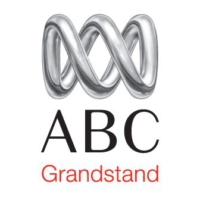 Logo of radio station ABC Grandstand