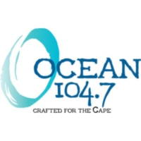 Logo of radio station WOCN Ocean 104.7
