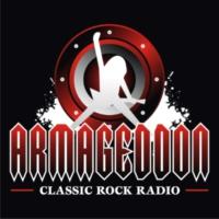Logo of radio station ARMAGEDDON
