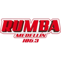 Logo of radio station Rumba 106.3 - Medellín