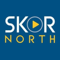 Logo of radio station KSTP SKOR North