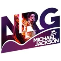Logo de la radio NRG Michael Jackson