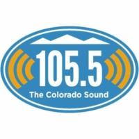 Logo of radio station KJAC 105.5 The Colorado Sound