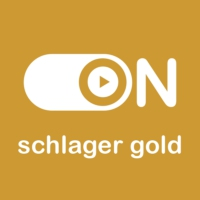 "Logo of radio station ""ON Schlager Gold"""