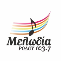 Logo of radio station Melodía Ródou 103.7 - Μελωδία Ρόδου 103.7