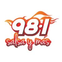Logo de la radio WNUE Salsa 98.1