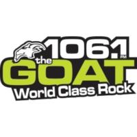 Logo of radio station CKLM-FM 106.1 The GOAT