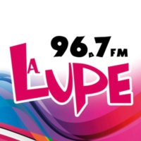 Logo of radio station XHGNK-FM La Lupe 96.7