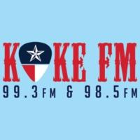 Logo of radio station KOKE FM