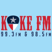 Logo of radio station KOKE FM