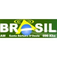 Logo of radio station Radio Brasil AM