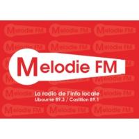 Logo of radio station Mélodie FM - Libourne