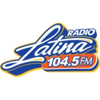 Logo of radio station XHLTN Radio Latina 104.5 FM
