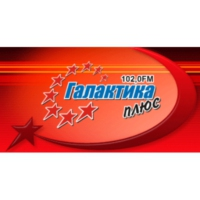 Logo of radio station Галактика плю��