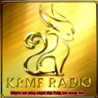 Logo of radio station KRMF