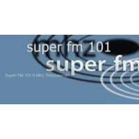 Logo of radio station Super FM 101 Thessaloniki