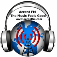 Logo of radio station Accent FM (B)