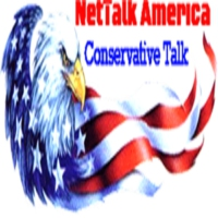 Logo of radio station NetTalk America